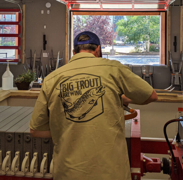 Big Trout work shirt