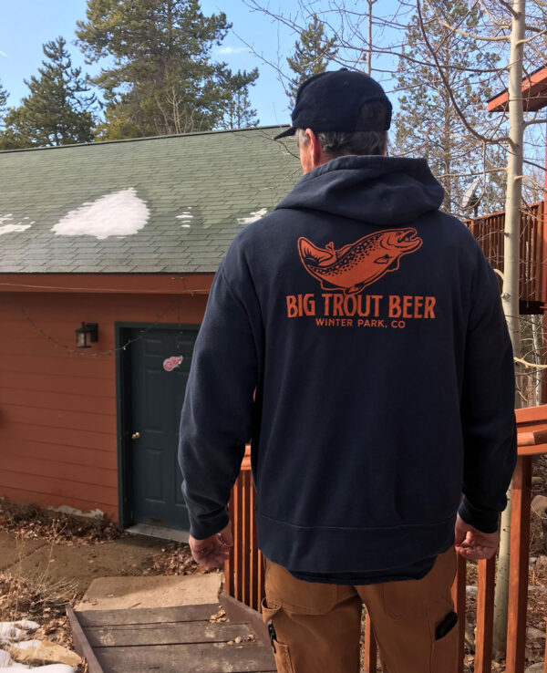 big trout hoody