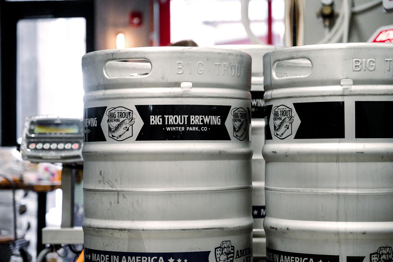 Kegs Brewed in Winter Park CO