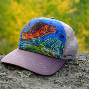 custom Big Trout Hat by Abby Paffrath at Art4All