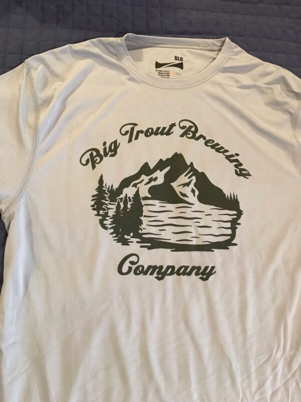 Big Trout dry fit shirt