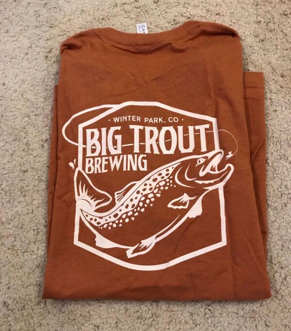 Big Trout Hop T-Shirt back