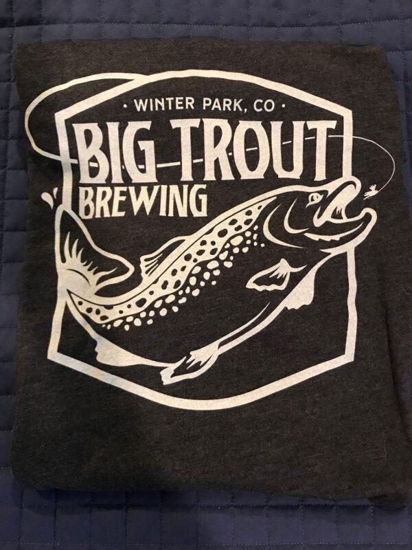 Big Trout Brewing Hop T-Shirt back